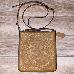 Coach Tan Crossbody Purse